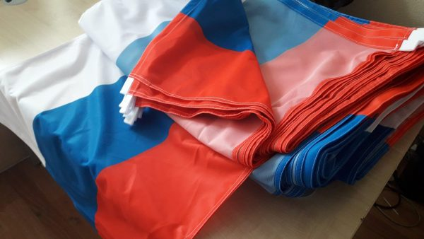 печать флага РФ